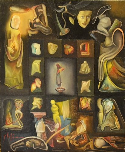 Petre Velicu (1950 - ) Revelații/ Revelations