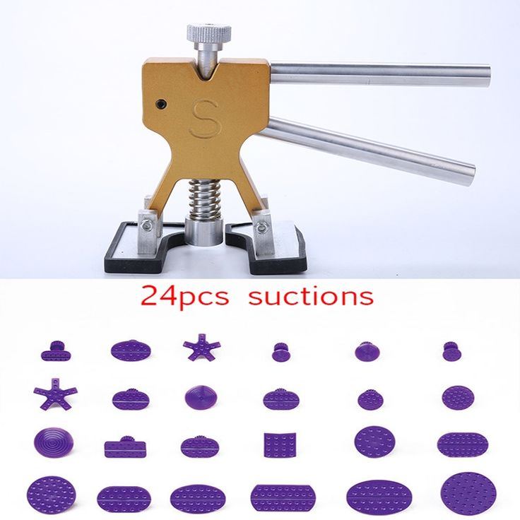 34.79$  Buy here - http://aliun5.shopchina.info/1/go.php?t=32809879885 - 1puller+24 suction Paintless car Dent Repair Tools rix it Dent Removal Dent Puller Tabs Dent Lifter Ferramentas 34.79$ #buymethat