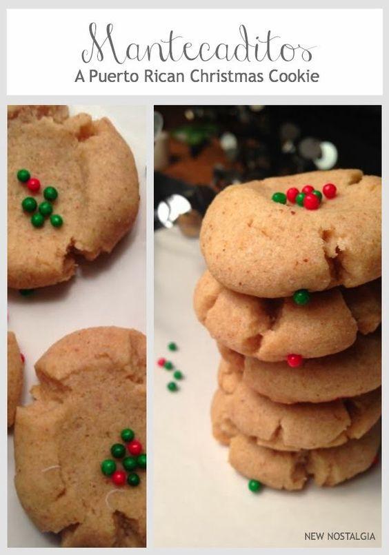 New Nostalgia – How To Make Mantecaditos – A Puerto Rican Christmas Cookie + Dreaming Of Puerto Rico