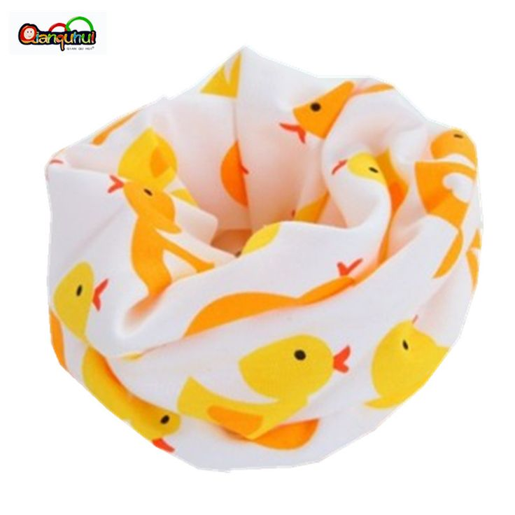Fashion Baby Scarf  Cotton Baby Bibs Kids Child  O Ring Scarf Children Collar Neck Scarf Boys Girl  Head Wear Cap Burp Cloths
