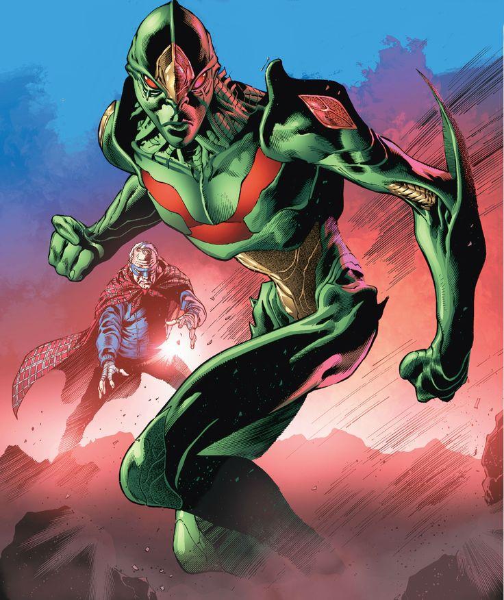 Martian Manhunter by Eddy Barrows