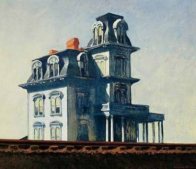 House by the Railroad by Edward Hopper.