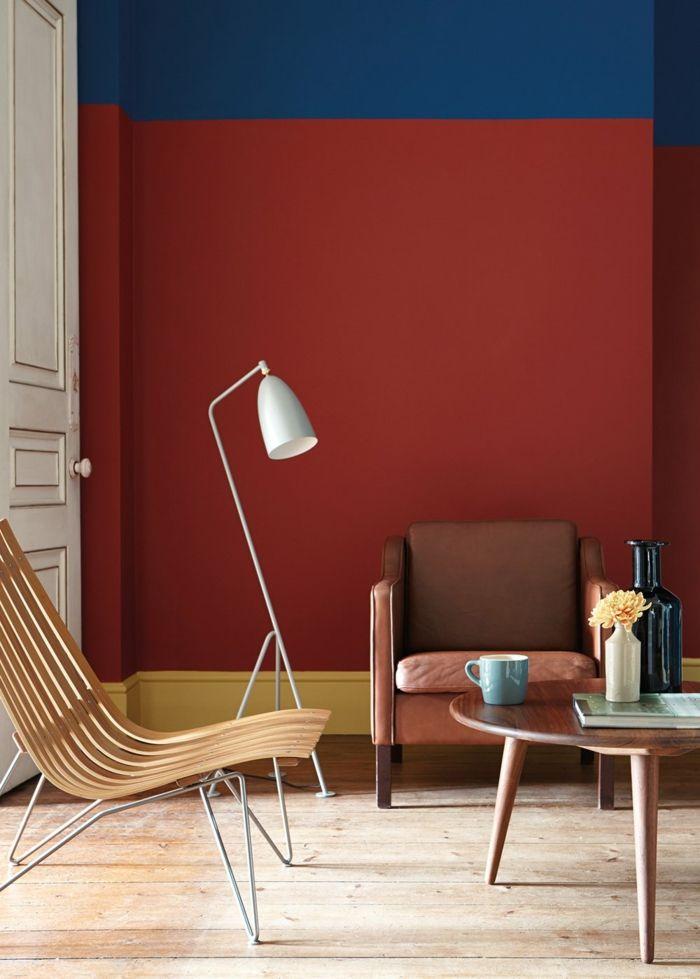 1001 Ideen Zum Thema Welche Farbe Passt Zu Rot Teppich Grun Roten Wande Roter Lampenschirm