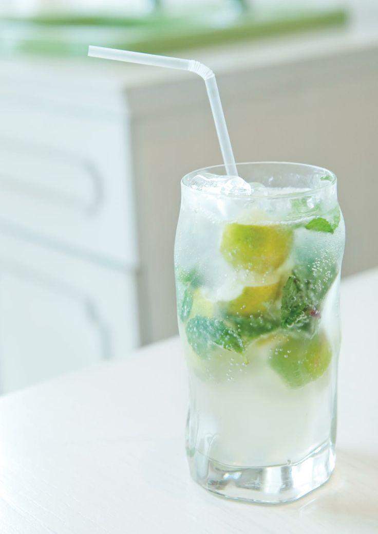 Mint Lemonade #nannyspavillon #drink #lemonade