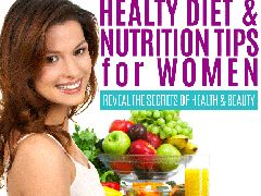 Healthy Diet and Nutrition Tips for Women