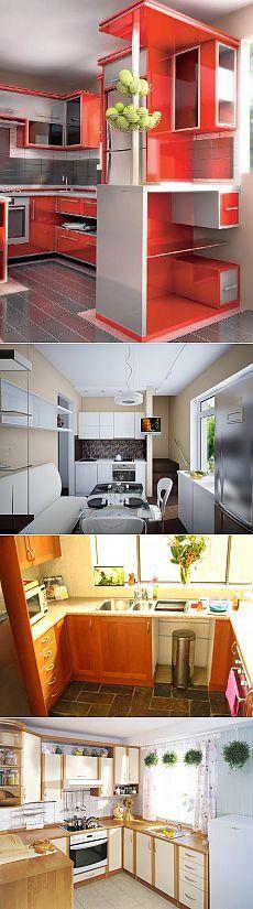 Дизайн маленькой кухни | iBud.ua