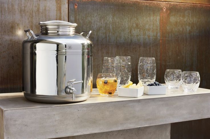 stainless steel fustis beverage dispenser