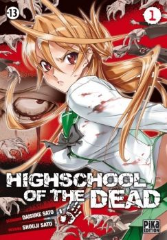 Couverture Highschool of the Dead, tome 1