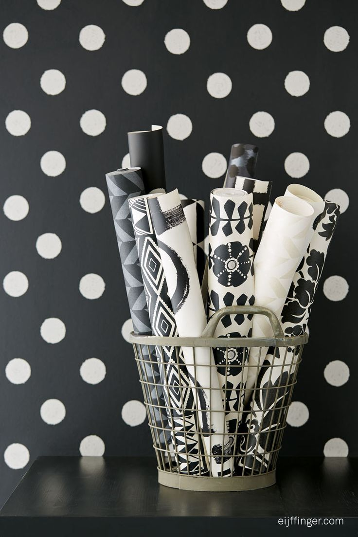 Wallpaper collection Black & Light by Eijffinger.