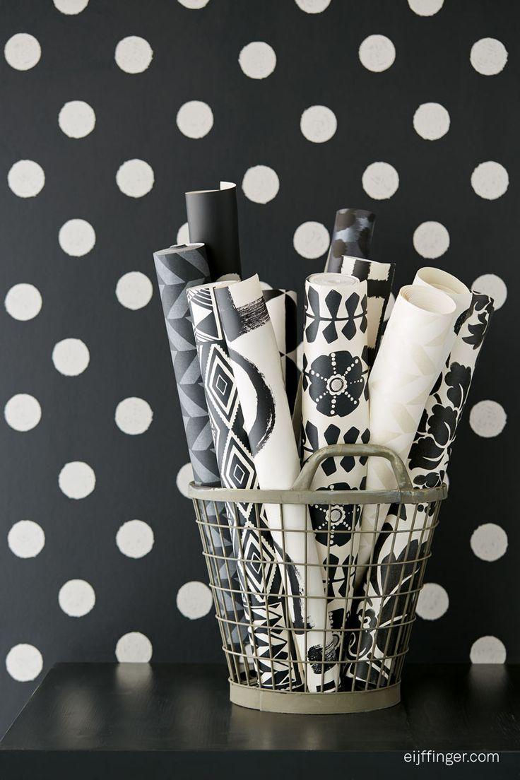 Wallpaper collection Black & Light by Eijffinger.
