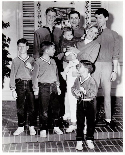 The Jerry Lewis family...