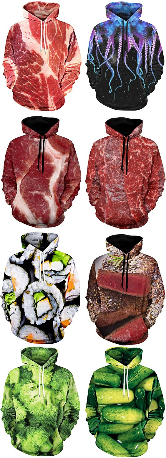 Yummy!It looks great,which hoodies do you like best?Shop the Latest Collection of Men's Hoodies & Sweatshirts in a variety of Styles & Colors at Dresslily.com.Free Shipping Worldwide!#hoodie#men