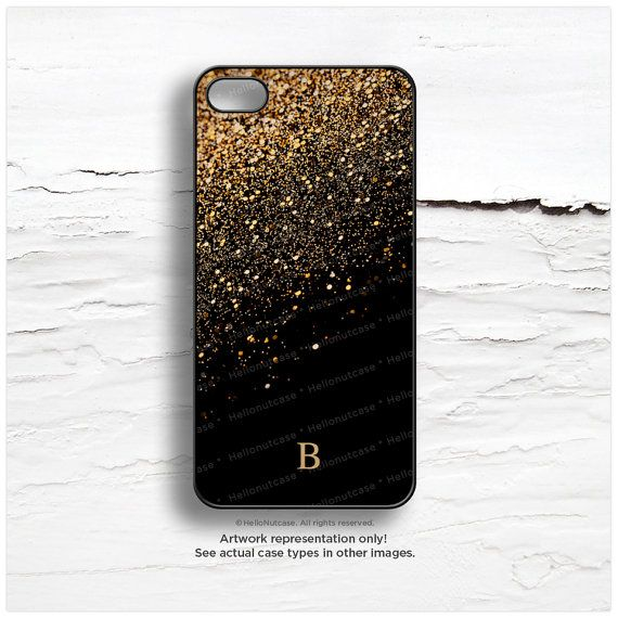 iPhone 6S Case Personalized iPhone 6 Case Gold by HelloNutcase