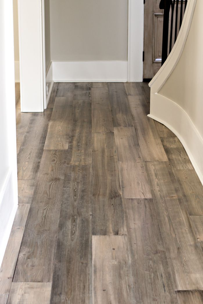 Our new beautiful Barnwood Collection prefinished flooring!