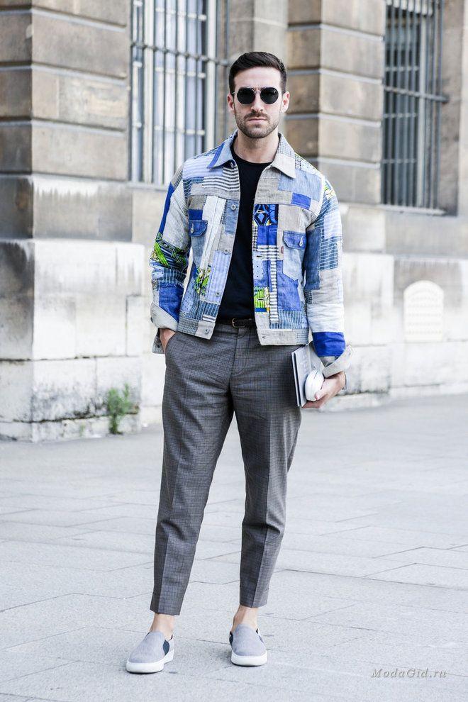 Уличная мода: Уличный стиль недели мужской моды в Париже сезона весна-лето 2017