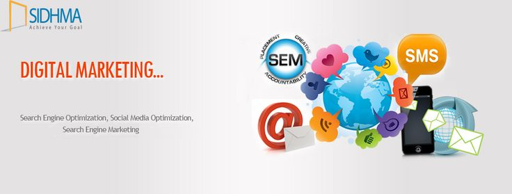 Sidhma ‪‎Digital Marketing‬ Service offers entire services in promotions of products and brands in the world of Internet Marketing to reach customers.