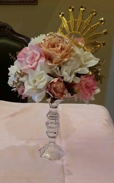 princess centerpieces quinceanera centerpieces shower centerpieces