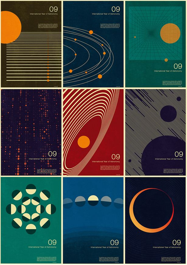 Vintage outer space art images for Outer space poster design