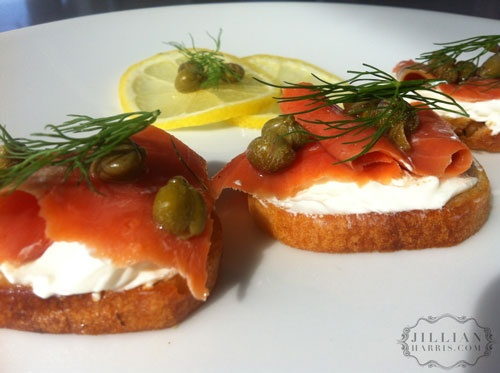 Smoked Salmon Crostinis- Philly Cream Cheese: Salmon Crostini, Food Friday, Smoked Salmon, Smoke Salmon, Cold Smoke, Cooking, Food 3, Blog, Bagels