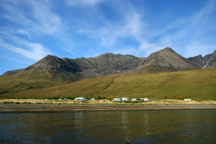 Glenbrittle Campsite, Dunvegan, Isle of Skye, Scotland. Outdoors. Camping. Campsite. Holiday. Travel. Countryside.