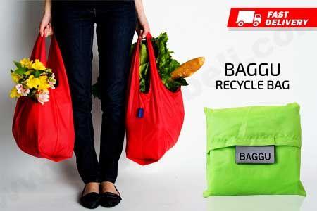 Baggu Bag, Tas Recycle Import untuk berbelanja asli murah hanya Rp 14.990 https://www.groupbeli.com/view.php?id=910