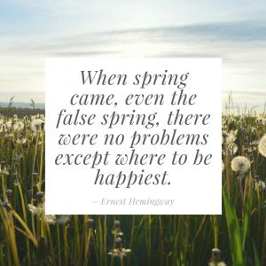 17 Spring Quotes to Inspire You | TCK Publishing 17 Spring Quotes to Inspire You | TCK Publishing