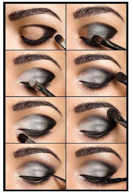 Como maquillarse los ojos paso a paso en casa el for Como se maquillan los ojos ahumados