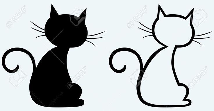 Cat silhouette - Recherche Google