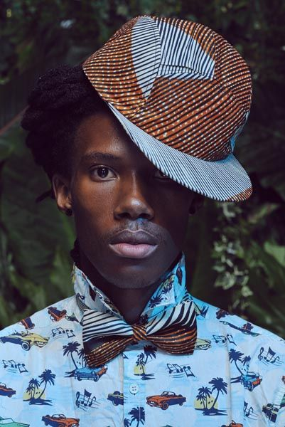 Sapeur à Casquette / Sapology / African Fashion / Streetstyle / Portrait / colors / wax babatunde-capulana-fever6