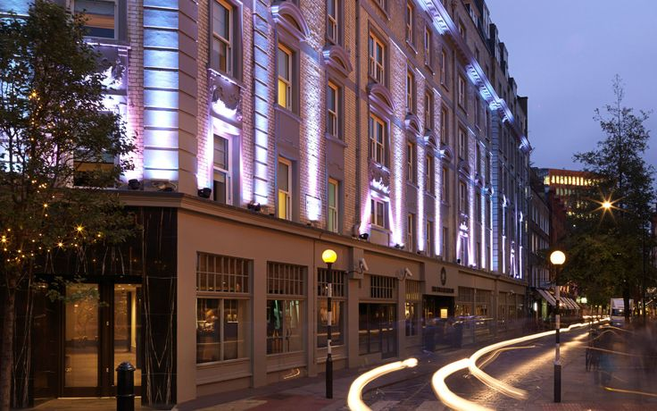 Luxury Boutique Hotel Covent Garden | Radisson Blu Edwardian Mercer Street