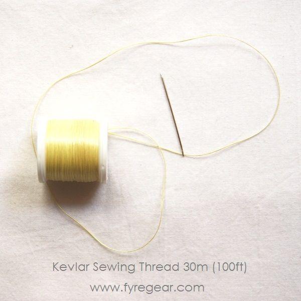 FIRE SPINNING WICKS: 100% Kevlar Sewing Thread 30m (100ft) - $8 - great for making your own or repairing old wicks - Fyregear AUSTRALIA www.fyregear.com