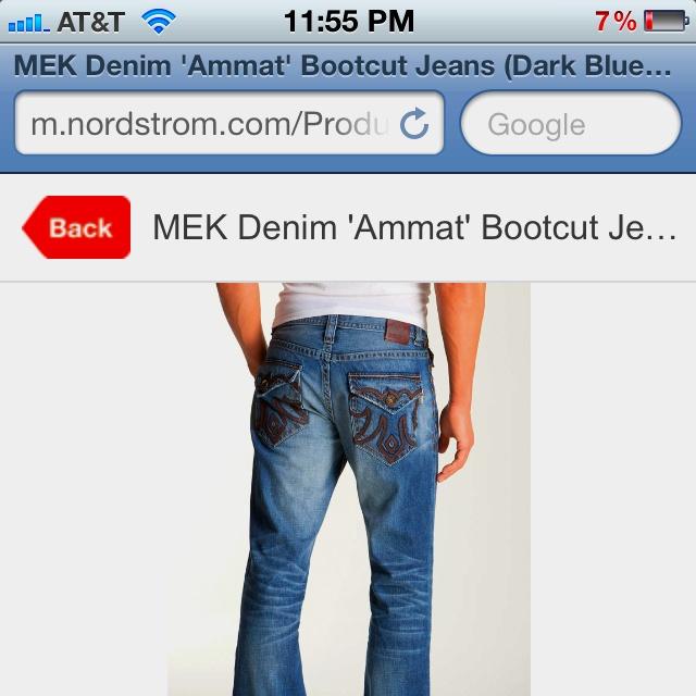 New Meks Im Getting! 145$Design Jeans