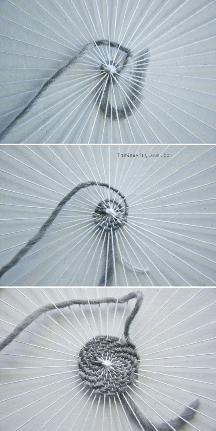 How To Weave a Spiral
