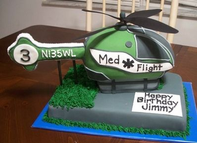 and another heli cake