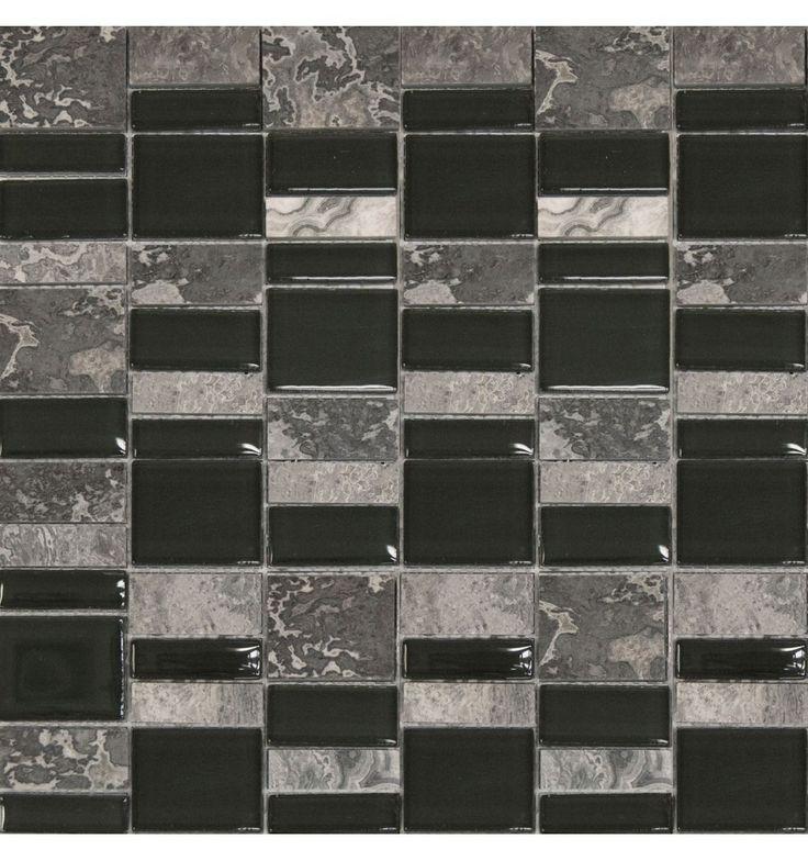 Mosaik - Kakelmonster | Mosaik Sahara Grå 30.5x30.5