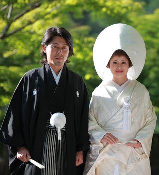 男らしい!結婚式に着たい新郎の袴姿。ウェディング・ブライダルの参考に。