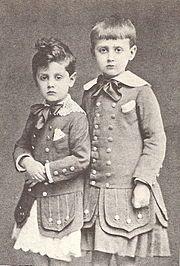 Marcel Prosut e il fratello Robert