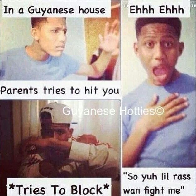 Guyanese parents