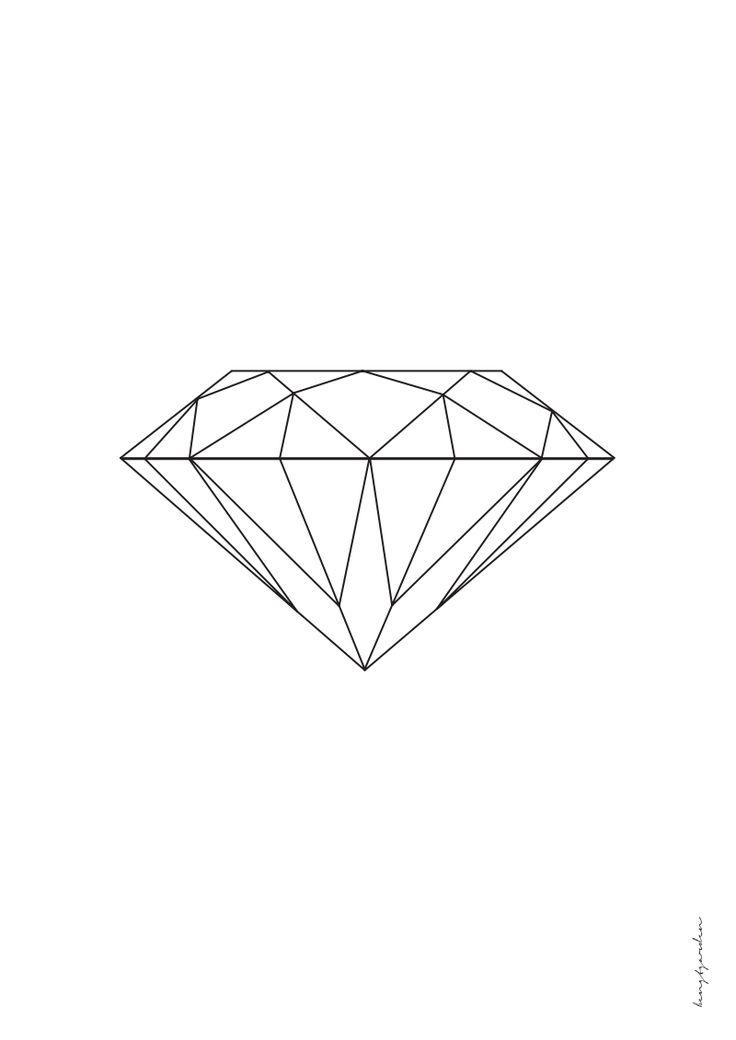 Diamant A3.pdf | D I Y: P A P E R | Pinterest | Diamonds ...