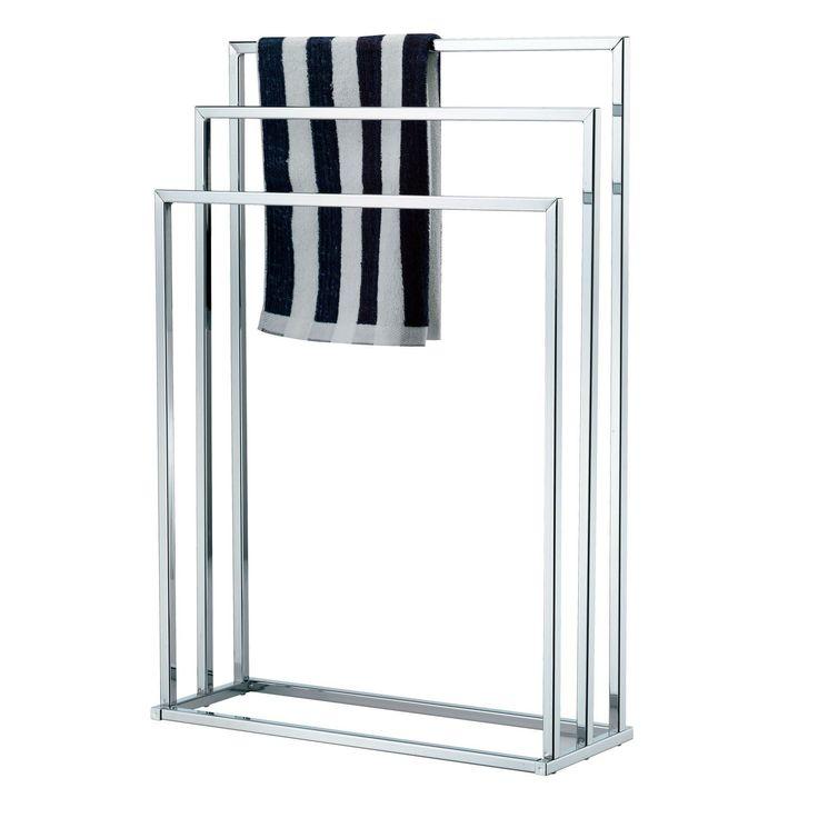 best 25 free standing towel rail ideas on pinterest. Black Bedroom Furniture Sets. Home Design Ideas