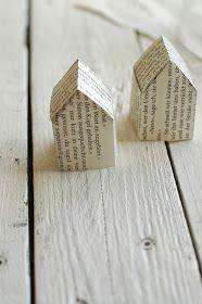 kayhuderfjaeril: Ein Haus aus Papier {Creadienstag /Upcycling}