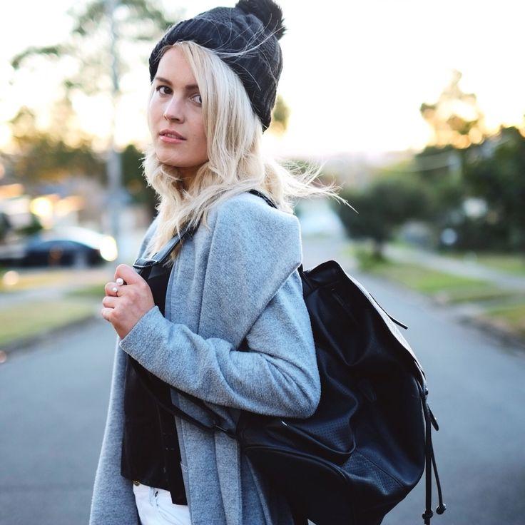 Minimal winter outfit- neutrals @littlemissapple