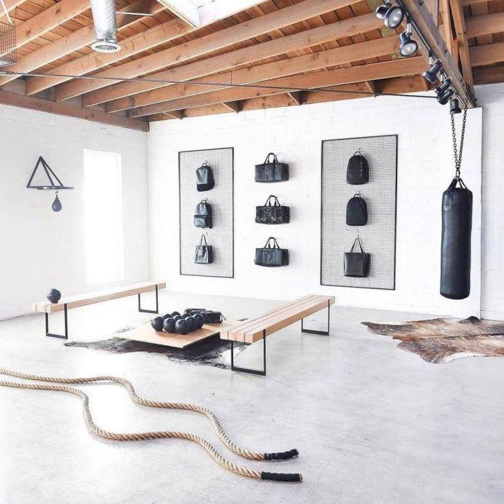 Home Gym Design Ideas Basement: 28 Amazing Home Gym Design Ideas