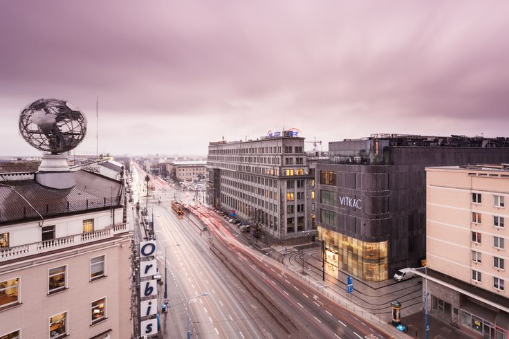 Jerusalem Avenue in Warsaw by Daniel Ciesielski on 500px