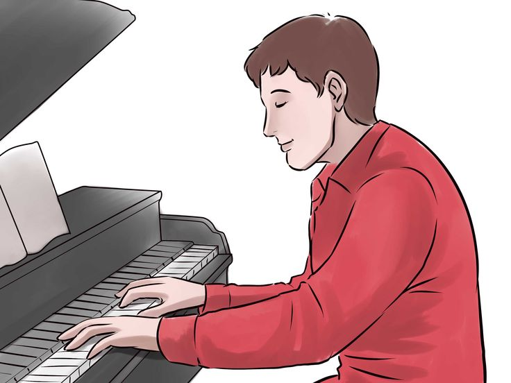 how to play train on piano