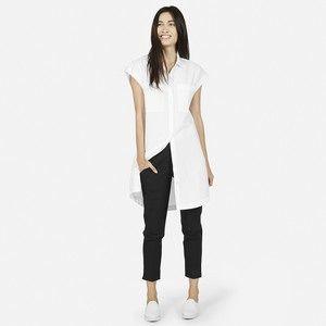 The Short-Sleeve Shirt Dress - Everlane