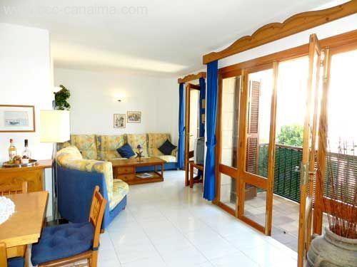 Top gepflegtes Apartment am Hafen von Cala Ratjada mit seitlichem Meer- und Hafenblick
