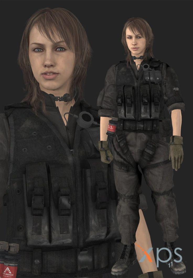 Metal Gear Solid V The Phantom Pain Quiet XOF Uniform