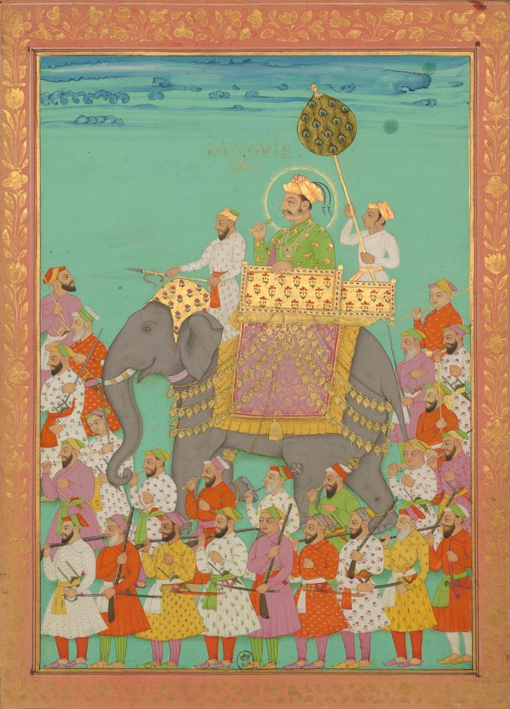 Emperor Jahangir, Timurid Empire