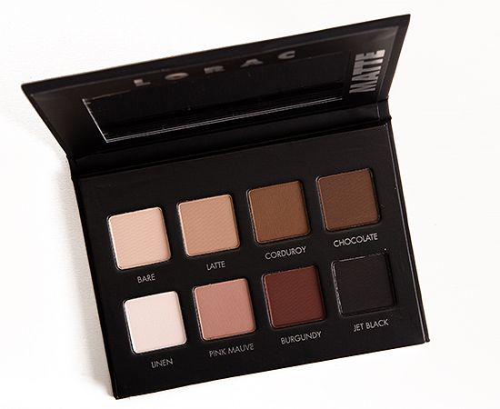 LORAC PRO Matte Eyeshadow Palette Review, Photos, Swatches